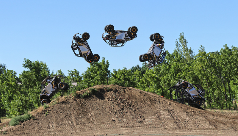 CAN-AM Maverick Backflip