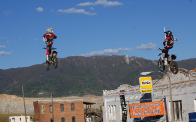 FMX pics from Evel Knievel Days