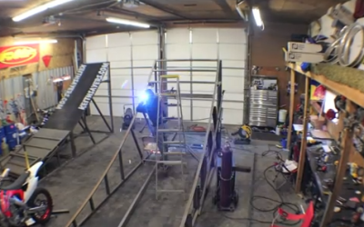 Can't ride so lets build a FMX Ramp
