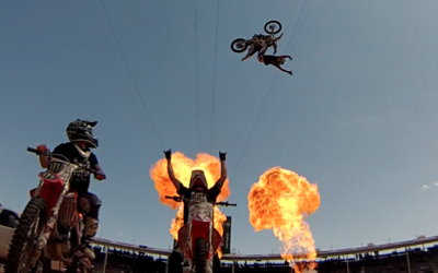 Freestyle Motocross at the Calgary Stampede